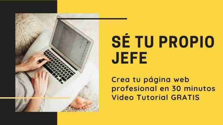 Como Crear tu Pagina web en 30 minutos